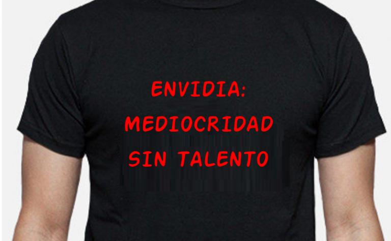 Envidia, mediocridad sin talento